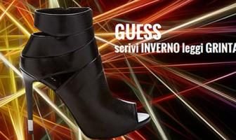 GUESS Shoes: scrivi INVERNO leggi GRINTA