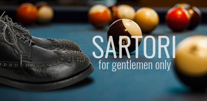 Scarpe Sartori: for gentlemen only!