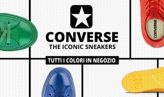 Monochrome Chuck Taylor All Star: new iconic sneakers!
