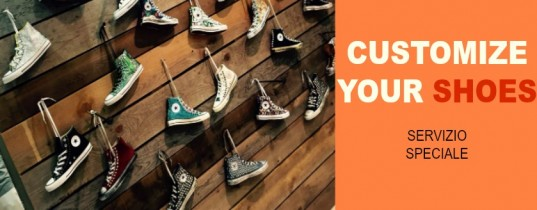 Customize your shoes – Servizio speciale